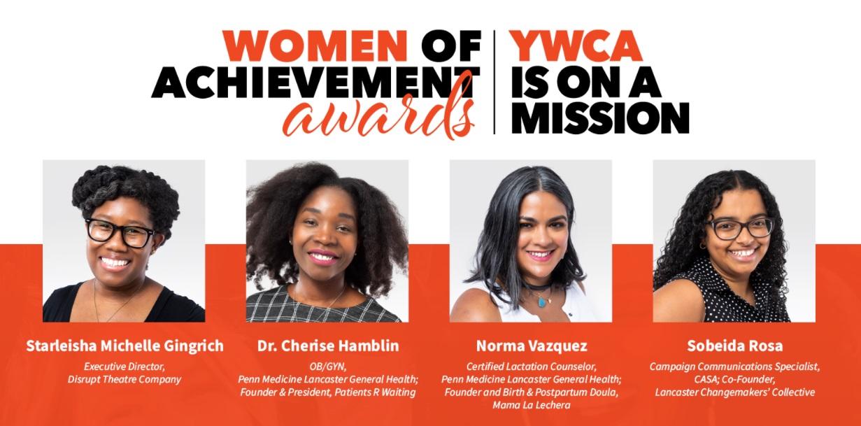 YWCA Lancaster announces 2021 Women of Achievement honorees
