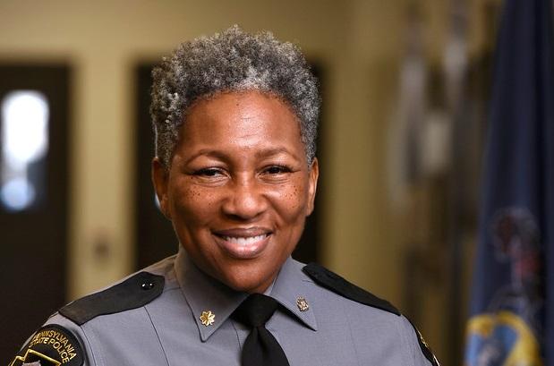 State Police Lt. Col. Kristal Turner-Childs. (Source: Central Penn College)