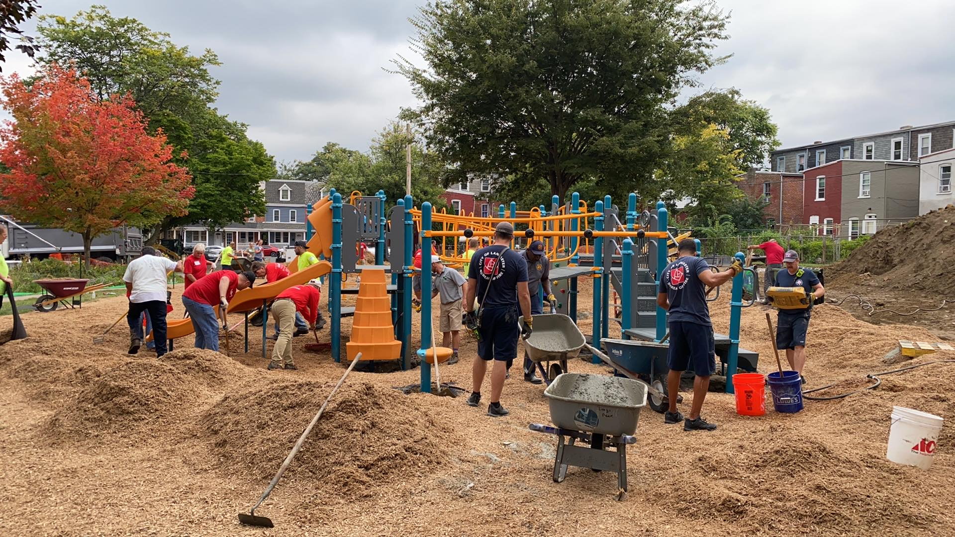 'Kid designed' playground opening in Lancaster's Milburn Park
